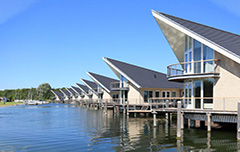 Luxe water villa's Nederland - Zeeland