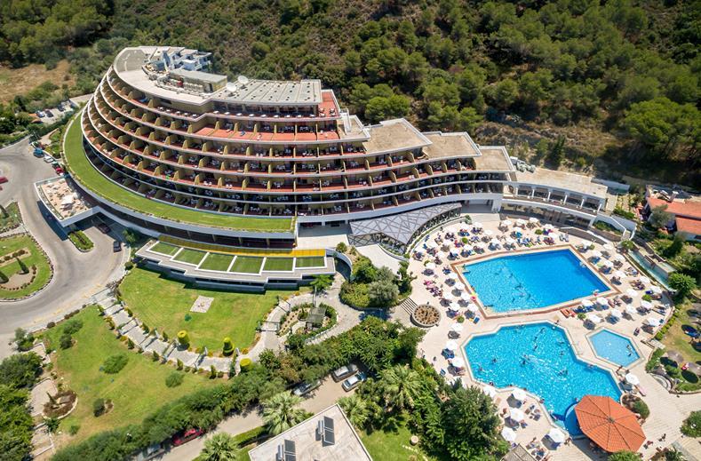 Voor een luxe vakantie in Griekenland is Olympic Palace op Rhodos de ideale plek.