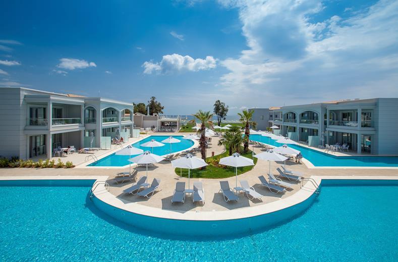 Het prachtige Lagoon Princess is een super-de-luxe hotel op het Griekse eiland Chalkidiki.