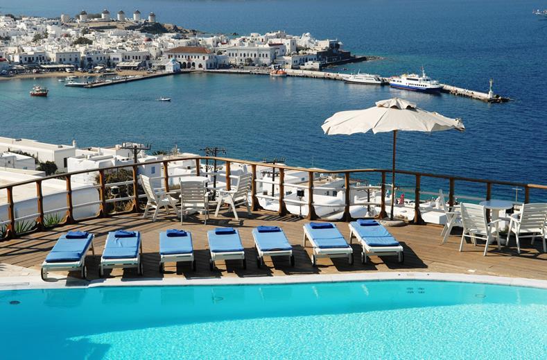 Mykonos View is een luxe hotel op het eiland Mykonos