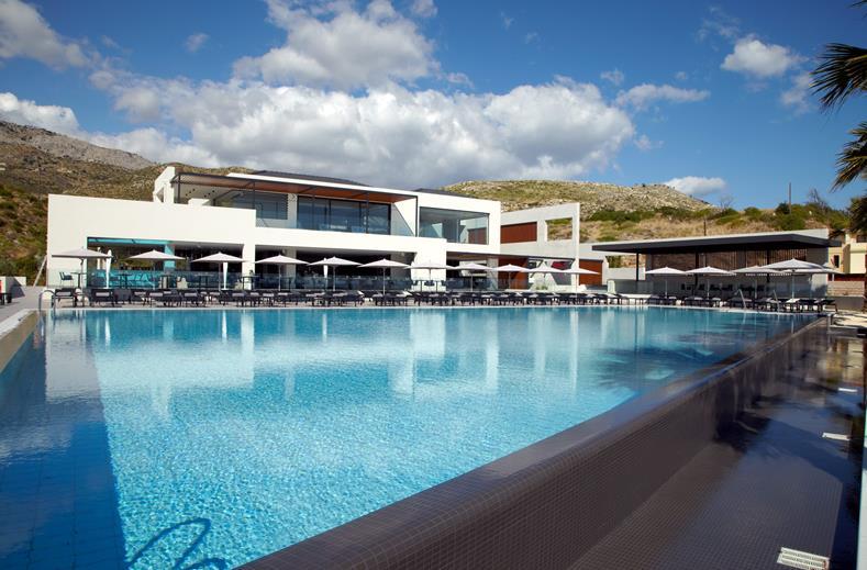 Een ultra luxe hotel op het Griekse eiland Kefalonia