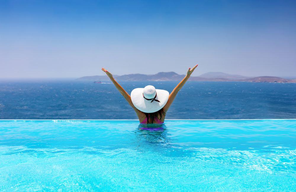 De 5 mooiste infinity zwembaden